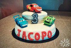Torta a tema Cars su commissione per il compleanno del piccolo Jacopo :)