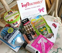 Influenster VoxBox Review: Holiday - 2012 ~ Glamorable!