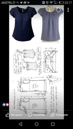 27 elegant photo of custom sewing patterns – ArtofitImage gallery – Page 585186545310949913 – Artofit Dress Sewing Patterns, Blouse Patterns, Clothing Patterns, Blouse Designs, Fashion Sewing, Diy Fashion, Sewing Blouses, Make Your Own Clothes, Diy Clothing