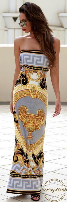 Versace towel for VMN Emporium // Fashion Look by Shira Lee Coleman