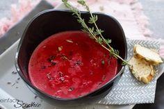 Rote Beete Suppe ist eine heimische Superfood-Bombe, die auch noch köstlich schmeckt ♥ Rezept mit Zubereitung im Thermomix oder Kochtopf ♥ Rote Bete Suppe ♥