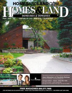 -- Volume 4 Issue 6 -- Homes&Land Demeures & Domaines by Jean-Sébastien et Claudette Boiteau