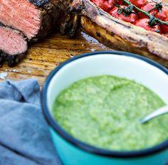 vihreä mojokastike Palak Paneer, Ethnic Recipes, Food, Essen, Meals, Yemek, Eten