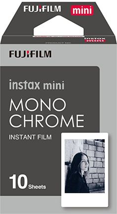 Fujifilm Instax Mini Monochrome Film - 10 Exposures $10