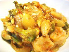 Shrimp & Broccoli One Pot Wonder