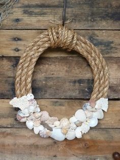 Sea Shell Wreath by SeaEverything on Etsy