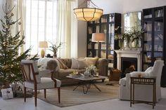 Livingroom with chair from Svenskt Tenn.