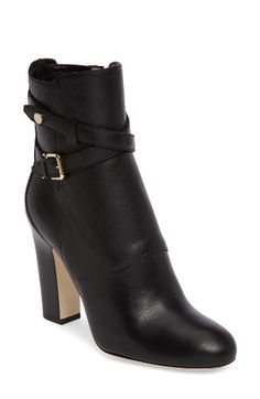 Free shipping and returns on Jimmy Choo Mitchel Buckle Bootie (Women) at Nordstrom.com. Pre-order this style today! Add to Shopping Bag to view approximate ship date. You'll be charged only when your item ships.A gilded, logo-embossed buckle accents a take-charge Italian bootie crafted from supple calfskin and lofted by a wrapped block heel.