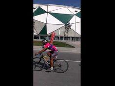 Mevlana Bisiklet Turu Torku Arena gecisi.