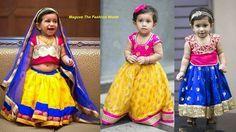 pattu pavadai designs for babies - Google Search
