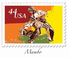 US Stamp - Partner Dances Mambo