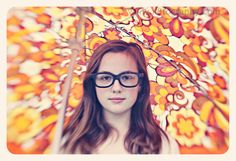 Great idea to create a colorful background, use an umbrella! Photo by k8tography.com #lensbaby