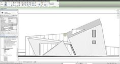 Adding depth to Revit elevations Architecture Program, Revit Architecture, Classic Architecture, Architecture Student, Architecture Details, Autocad, Revit Rendering, Museum Plan, Elevation Drawing
