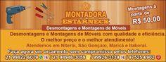 Montadores de Móveis em Maricá/ Itaipuaçu