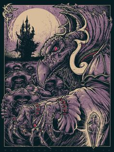 INSIDE THE ROCK POSTER FRAME BLOG: The Gang Is All Here Gallery Show at Bottleneck Gallery & World Premier Godmachine Dark Crystal Print