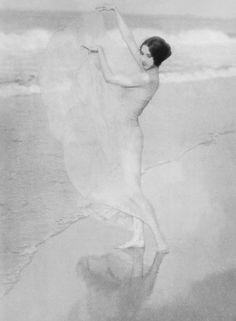 Arnold Genthe  Dancer Margaret Severn 1923.