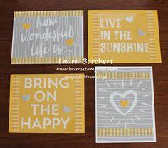 2017   December 2016 Paper Pumpkin Kit – Another Great Year!!!   Window Sheet Cards, www.LaurasStampPad.com