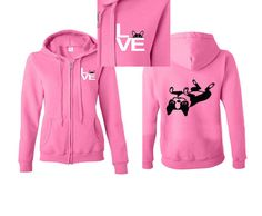 For the Love of Lola - Boston Terrier French Bulldog MISSY FIT Zip Up Hoodie Jacket Small- 5XL Unisex 4 colors by mystoryshirts on Etsy