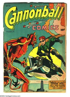 Unknown | Cannonball Comics #2 | Scarcity Index 6 | Rural Home | 1945