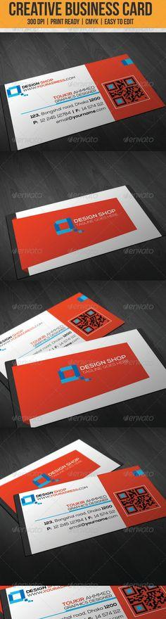 Sleek Creative Business Card