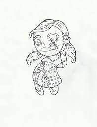 Image result for rag doll girl drawings