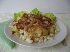 Szerda: Krumplis tészta Shrimp, Food, Eten, Meals, Diet