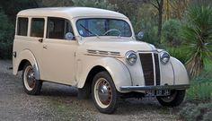 1958 Renault Juvaquatre Dauphinoise Estate Car