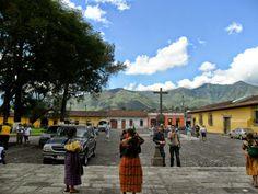 Cruz Atrial. La Merced. Antigua Guatemala