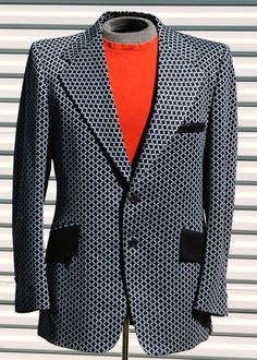 M Mens Vintage Polyester Sports Coat Soul Night by OLearStudios, $63.00