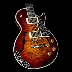 Gibson Custom Shop Bella Voce Les Paul 5A Quilt Top Electric Guitar Vanessa Brown