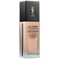 Yves Saint Laurent All Hours Full Coverage Matte Foundation Is Here! – Musings of a Muse