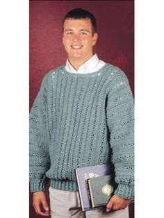 Crochet Clothes - Crochet Sweater & Top Patterns - V-Stitch Pullover