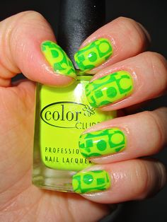 Lime Green.