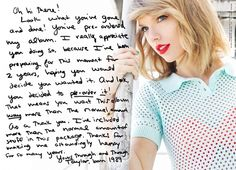 The special message from Taylor herself when you pre-buy 1989!