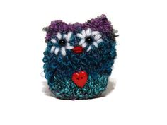 Fluffy Knit Owl Amigurumi Owls knitting by TheWoollyOwlhouse