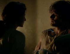 """Claire Fraser (Caitriona Balfe) and Jamie Fraser (Sam Heughan) in """"To Ransom A Man's Soul"""" Outlander Finale on Starz via http://kissthemgoodbye.net/PeriodDrama/thumbnails.php?album=318"""