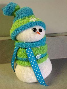 Sock Snowman Craft | Sock snowman | Christmas Crafts