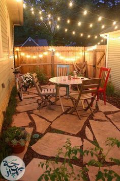 Outdoor String Lighting Ideas 20 Dreamy Ways To Use Outdoor String Lights In Your Backyard