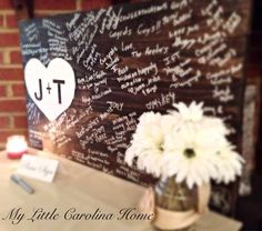 Wooden Guest Book Sign... Monogram. Wedding. Art. Rustic. Country. Guests. Initials. Heart. Board. Hanging.