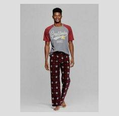 Marvel Deadpool Sleep Lounge Pajama PJ Pants Mens Size Small NWT