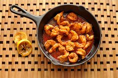 Spicy New Orleans BBQ Shrimp