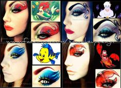disney-inspired-makeup The Little Mermaid Style