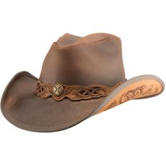 61528eddbbe21 11 Best Leather western hats images