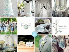 Things Festive Weddings & Events: Love Bird Spring Wedding Theme ...