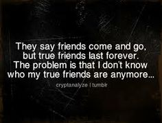 fake friends quotes - I just know of four other than that people are out there to harm me