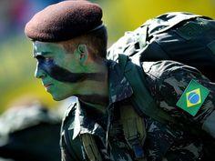 Bandeira do Brasil Emborrachada - América Tático Aventura