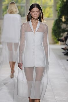 @Anie SS 2014. Mr Wang's sheer delight!  #PFW