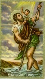 St. Christopher, Patron Saint of Travel