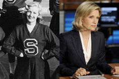 diane sawyer celebrities cheerleader cheerleading