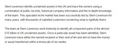 Stern Levenson blog snippet 2 Public Records, About Uk, Knowledge, Articles, Marketing, Blog, Blogging, Facts